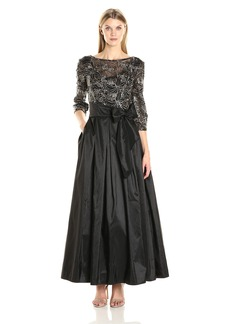 Alex Evenings Women's a-Line Ballgown Dress