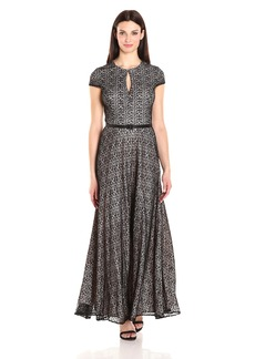 Alex Evenings Women's All Over Lace a-Line Gown Dress