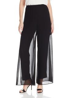Alex Evenings Women's Chiffon Overlay Pant  XL