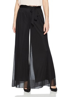 Alex Evenings Women's Evening Pant with Side Tie Detail  XL