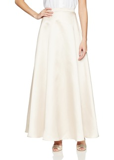 Alex Evenings Women's Long Circle Skirt with Elastic Waistband  S