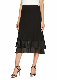 Alex Evenings Women's Plus Size Elegant Skirt (Various Lengths and Styles)