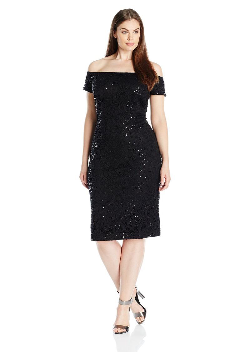 e8849907442a12 Women's Plus Size Shoulder Sequin Lace Dress W. Alex Evenings. $179.00  $108.74. from Amazon Fashion