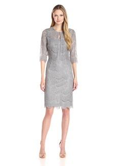 Alex Evenings Women's Short Lace Jacket Dress  18