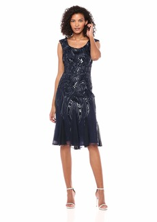 Alex Evenings Women's Sleeveless Lace Dress