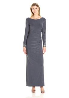 Alex Evenings Women's Sparkle Evening Dress