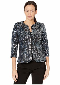 Alex Evenings Two-Piece Sequin Twinset
