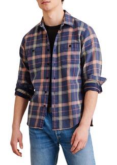 Alex Mill Check Chore Regular Fit Shirt