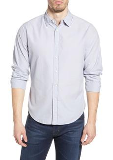 Alex Mill End on End School Regular Fit Button-Up Long Sleeve Shirt