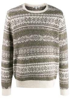 Alex Mill fairisle pattern jumper