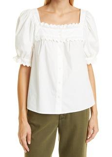 Women's Alex Mill Rick Puff Sleeve Top