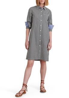 Women's Alex Mill Wyatt Gingham Long Sleeve Shirtdress