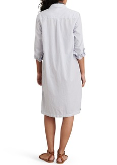 Women's Alex Mill Wyatt Stripe Long Sleeve Shirtdress