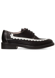 Alexa Chung 20mm Ac-30 Leather Derby Shoes