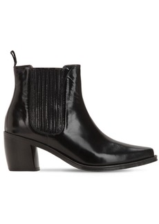 Alexa Chung 70mm Leather Ankle Boots