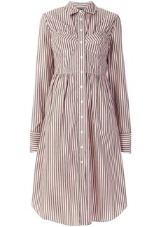 Alexa Chung seamed shirt dress - Pink & Purple