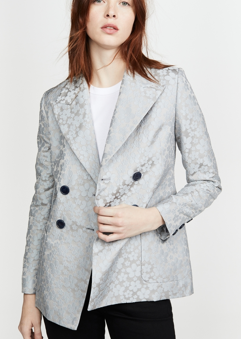 Alexa Chung ALEXACHUNG Double Breasted Jacket Daisy