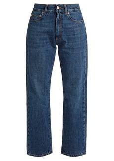 Alexa Chung Alexachung High-rise boyfriend cropped jeans
