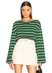 Alexa chung alexachung oversize stripe rib jumper abv4a9989e3 a
