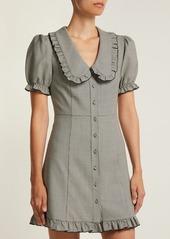 Alexa Chung Alexachung Puritan-collar babydoll dress