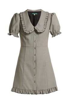 Alexa Chung Alexachung Puritan-collar babydoll dress