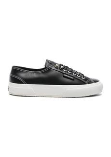 Alexa Chung ALEXACHUNG x Superga Low Top Leather Sneaker