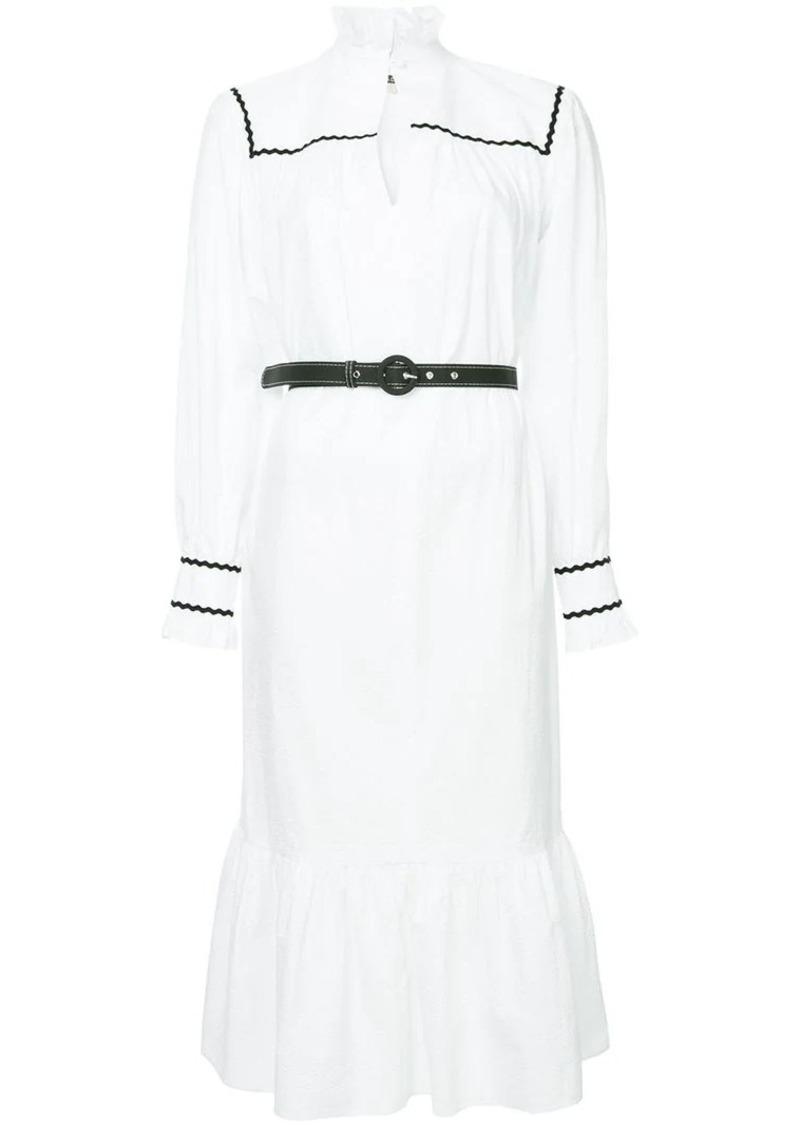 Alexa Chung belted dress