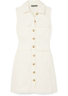 Alexa Chung Cotton-corduroy Mini Dress