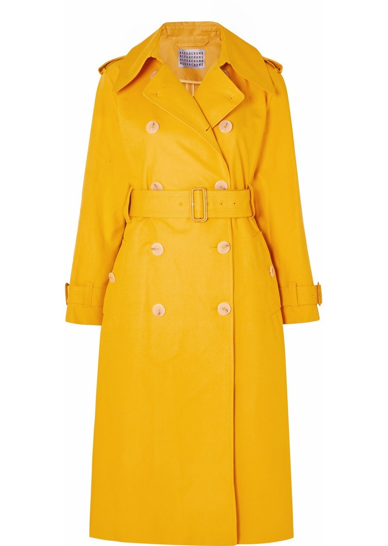 Alexa Chung Cotton-gabardine Trench Coat
