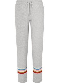 Alexa Chung Cotton-jersey Track Pants