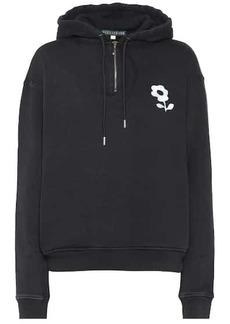 Alexa Chung Embroidered cotton hoodie