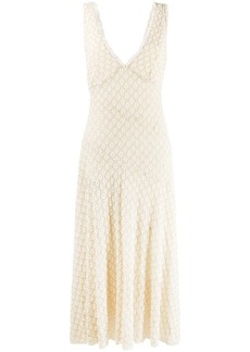 Alexa Chung floral embroidered dress