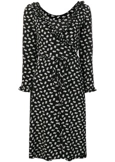 Alexa Chung floral print wrap dress