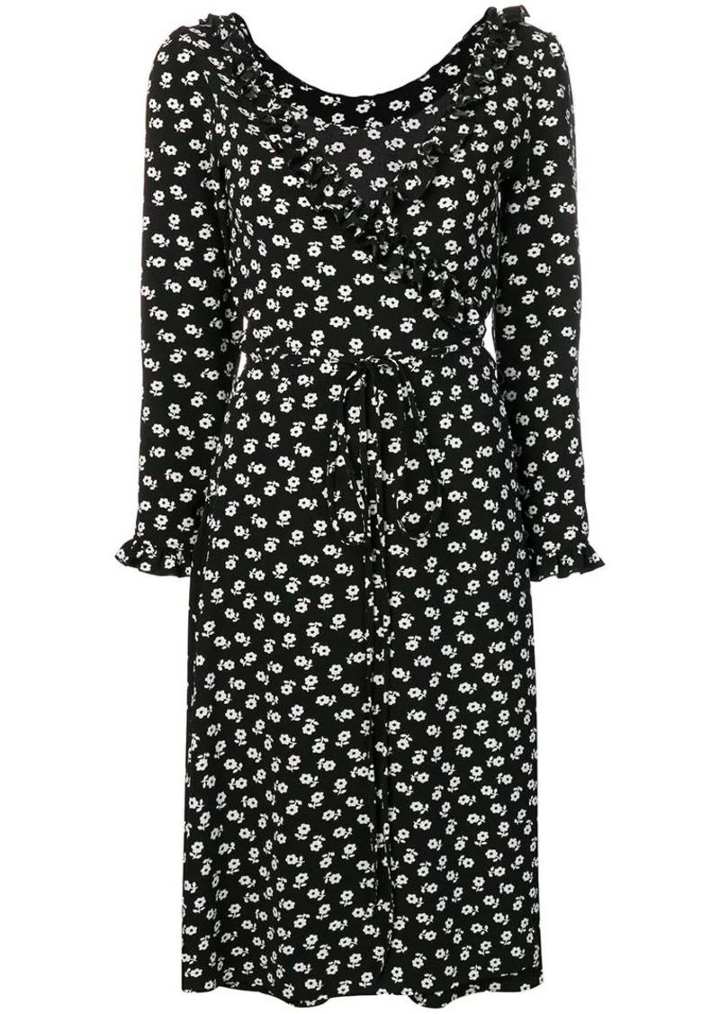 Alexa Chung floral print wrap dress