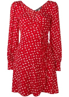 Alexa Chung floral wrap dress