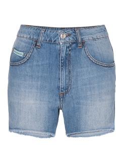 Alexa Chung Frayed Denim Shorts