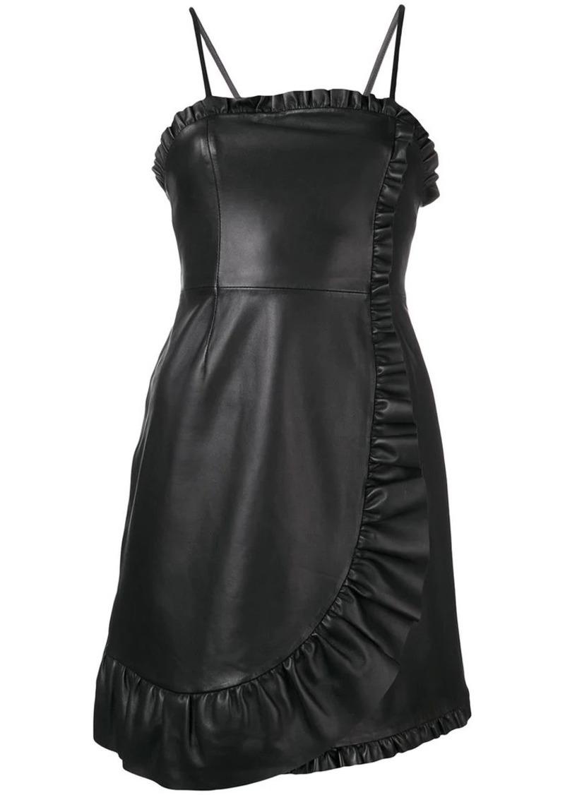 Alexa Chung frill trim mini dress