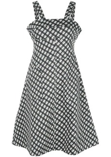 Alexa Chung gingham print dress