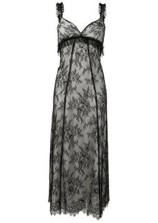 Alexa Chung lace midi dress