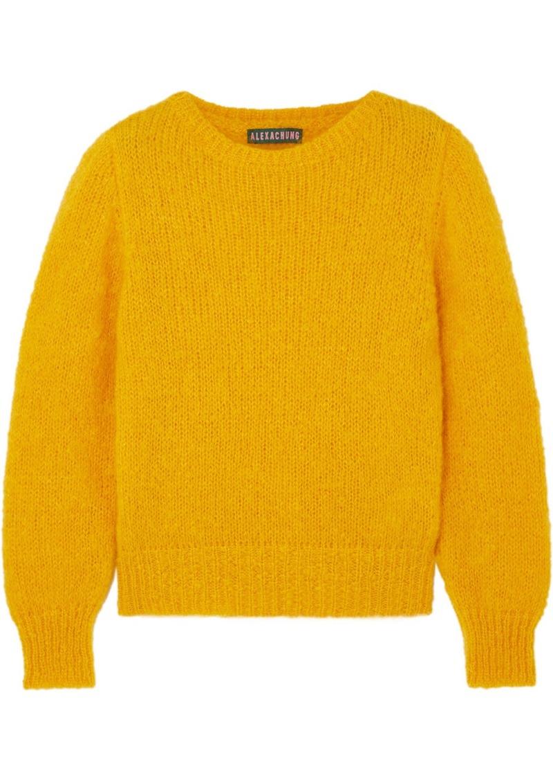Alexa Chung Mohair-blend Sweater