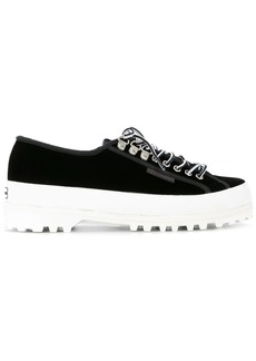 Alexa Chung panelled sneakers