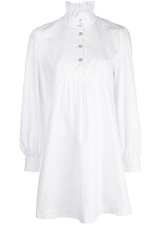 Alexa Chung Pierrette Frill shirt dress