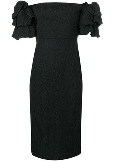 Alexa Chung puff sleeve dress