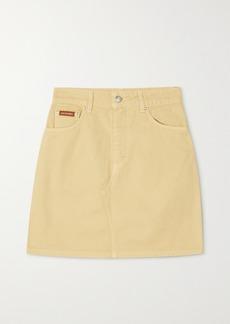 Alexa Chung Rosamund Organic Denim Mini Skirt