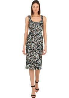 Alexa Chung Sequined Midi Dress