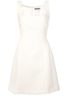 Alexa Chung square-neck short dress