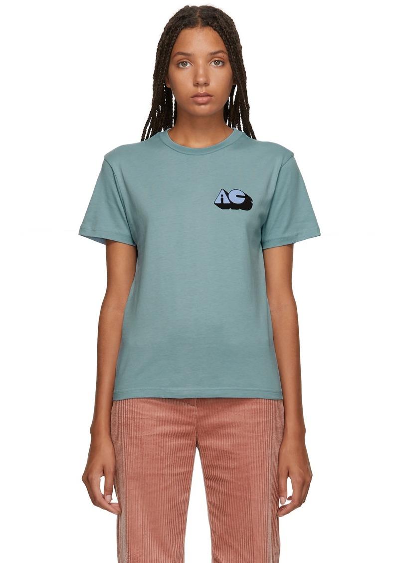 Alexa Chung SSENSE Exclusive Blue 'Alexa' T-Shirt