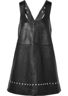Alexa Chung Studded Leather Mini Dress