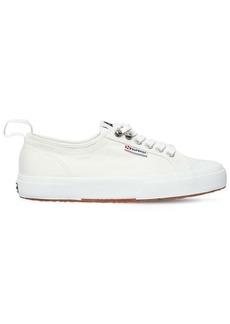 Alexa Chung Superga 20mm Cotton Canvas Sneakers