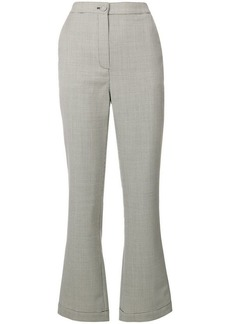 Alexa Chung tailored crop flare trousers